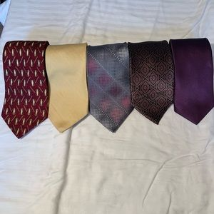 Name Brand 100% Silk Ties